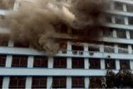 Fire at New Secretariat building in Kolkata