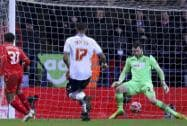 FA Cup fourth round replay match