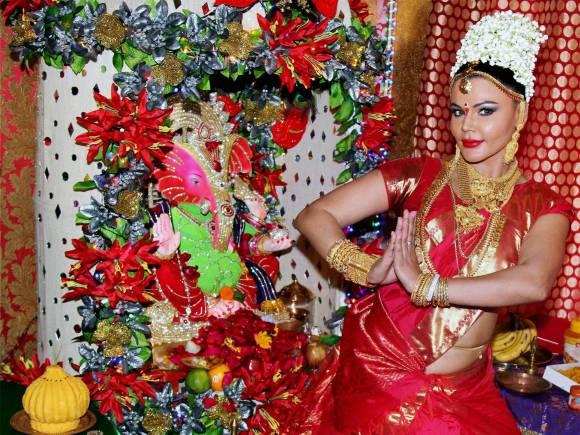 Rakhi Sawant, Ganesh Chaturthi, Lalbaugcha Raja, Ganesh festival, Ganesh Chaturthi festival, Lord Ganesha, Ganpati festival