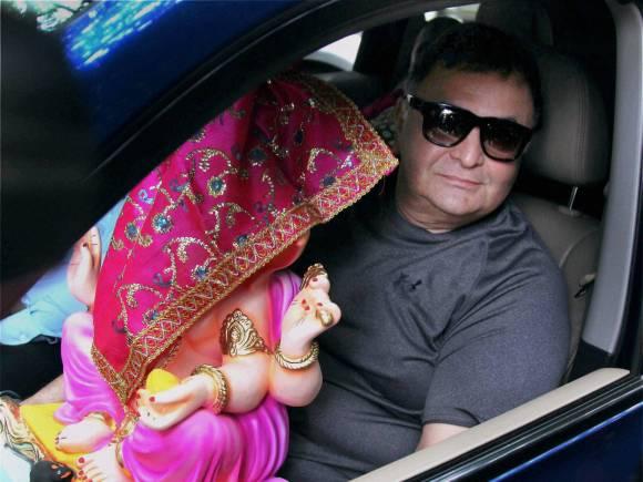 Rishi Kapoor, Ganesh Chaturthi, Lalbaugcha Raja, Ganesh festival, Ganesh Chaturthi festival, Lord Ganesha, Ganpati festival