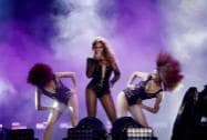 Beyonce performs on the On The Run Tour