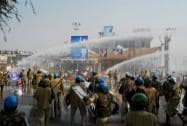 Chaos around Rampal's Ashram