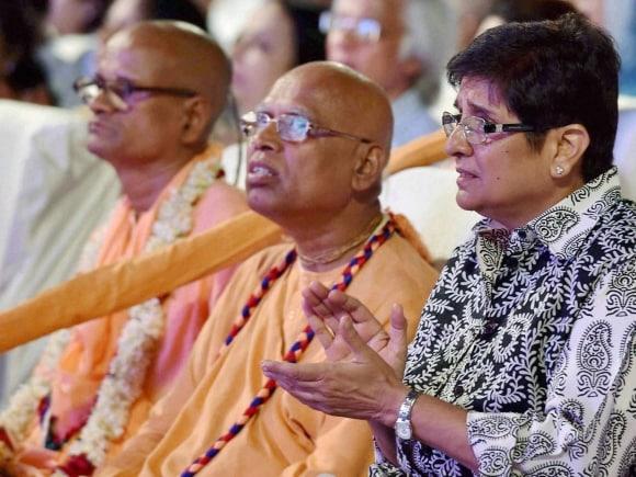 Kiran Bedi, Guinness World Record, Kolkata, Golden Jubilee Celebration, America, Golden Jubilee Festival, ISKCON Founder, ISKCON, Bhaktivedanta Swami Prabhupada