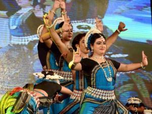 Odissi dancer Dona Ganguly