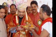 BJP National President Amit Shah during Gorata Shaheed Smarak Bhoomi Pujan