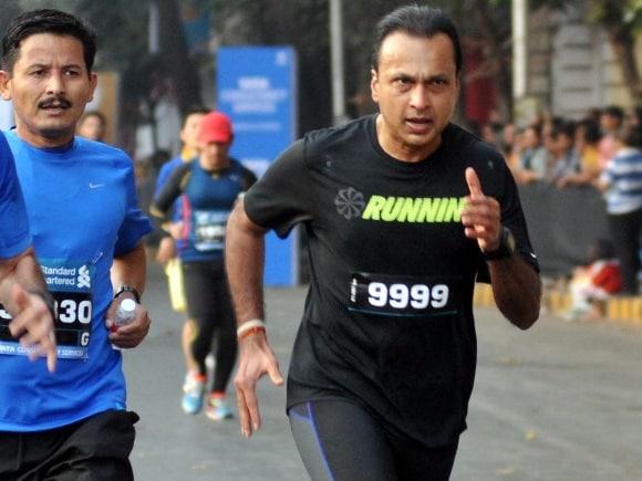 Standard Chartered Mumbai Marathon, Anil Ambani