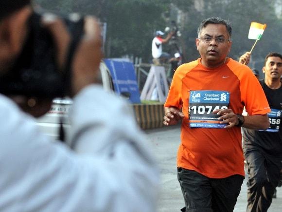 Standard Chartered Mumbai Marathon, N Chandrasekaran