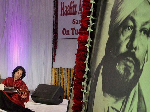 Hafiz Ali Khan,  Award,  Amaan Ali,  Ayaan Ali