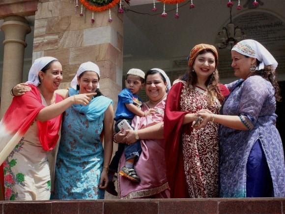 Parsi New Year 2015, Parsi Community, Parsi New Year, Navroz, Nagpur, Maharashtra