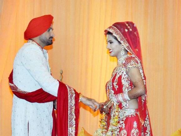 Harbhajan Wedding, Harbhajan Singh Marriage, Harbhajan Singh Wedding, Geeta Basra Wedding, Geeta Basra Harbhajan Singh, Geeta Basra Images