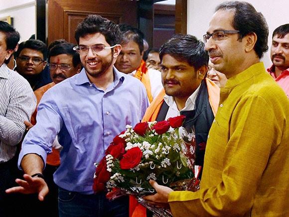 Shiv Sena, Hardik Patel, Uddhav Thackeray, BJP, Patidar, Narendra Modi