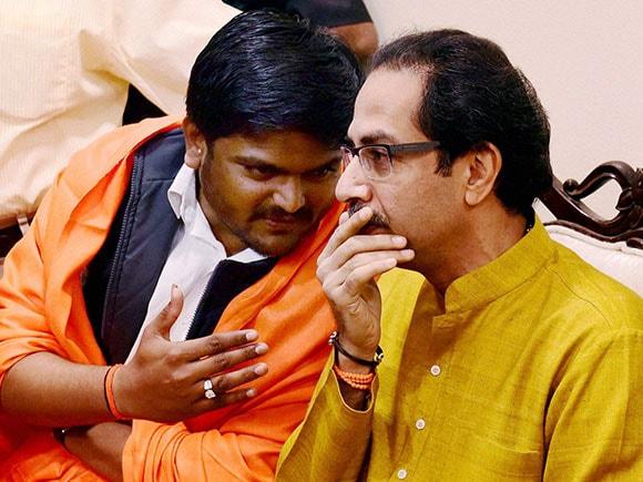 Shiv Sena, Hardik Patel, Uddhav Thackeray, Patidar, Narendra Modi,
