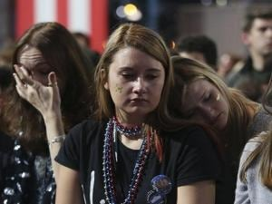 Heartbreak for Hillary fans