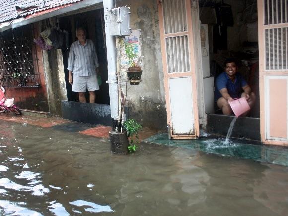 Mumbai Rains, Water Logging, IMD, Trains