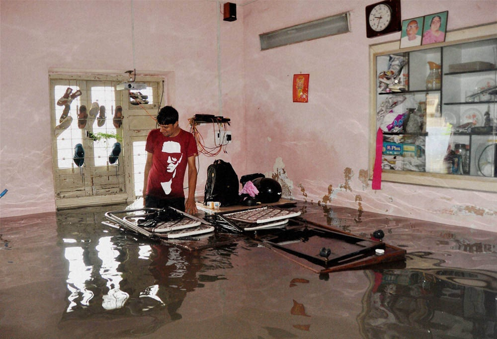 army man, flooded room, Ahmedabad