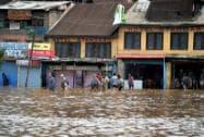 Heavy rains in Kashmir