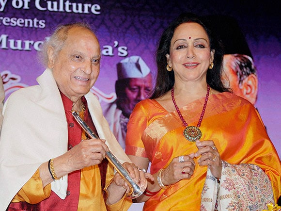 Hema Malini, Pandit Jasraj, Hindustani Classical Music, Ustad Bismillah Khan