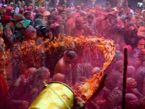 Devotees,  Covered,  Colour, Celebrate