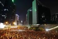 Hong Kong, China, Admiralty, Occupy Democracy