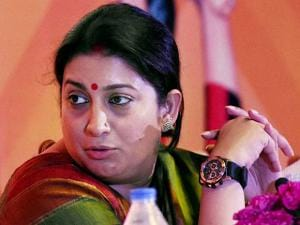 HRD minister Smriti Irani at National Yoga Olympiad event 04