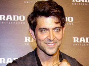 Bollywood actor and brand ambassador of Rado, Hrithik Roshan unveils Rado Brown high-tech ceramic collection in Mumbai
