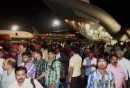 IAF plane carrying 190 Indian nationals lands in Mumbai