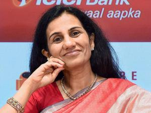 Chanda Kochhar during the launch of 'Software Robotics' power banking operations