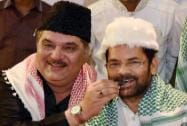 Mukhtar Abbas Naqvi and Raza Murad