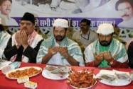 Mukhtar Abbas Naqvi, Raza Murad  and Ramdas Athawle