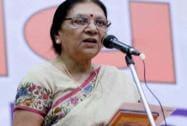 Anandiben, Modi's successor