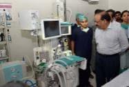 Union Minister for Health and Family Welfare Harsh Vardhan