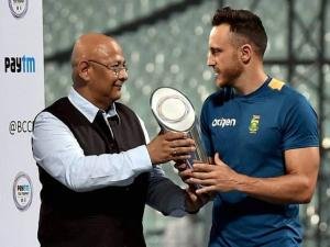 South Africa Captain Du Plessis