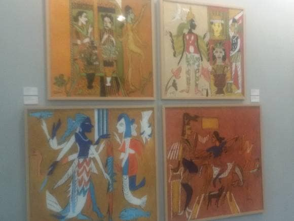 Paintings by KG Subramanyan