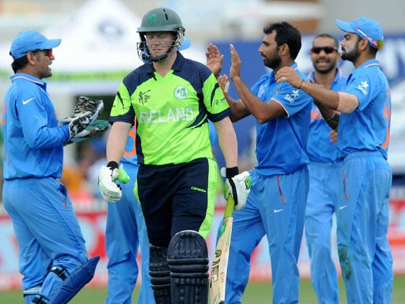 World Cup, India vs Ireland, Kevin O'Brien, Mohammed Shami, Team India, Australia, Cricket fan