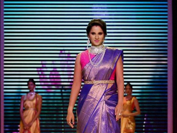 Sania Mirza, Jewellery, India International Jewellery Week, Fashion Show, Mumbai, India, International