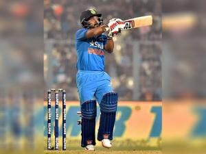 India cricketer Kedar Jadhav  during 3rd ODI against England at Eden Garden