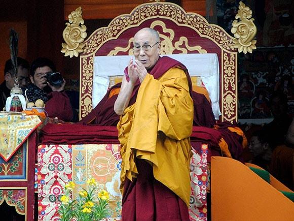 Dalai Lama, China, Tibetan spiritual leader, Thubchog Gatsel Ling Monastery, Bomdila, Arunachal Pradesh