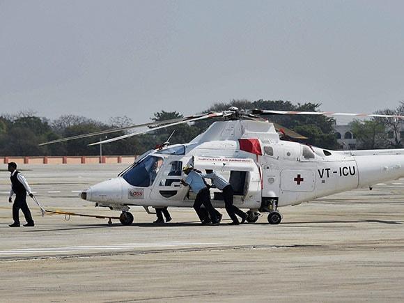 Rohini Heliport, heliport inaugurated, air ambulance, Pawan Hans, Pawan Hans helicopter