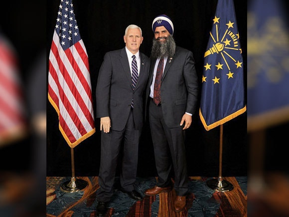 Sikh leader, Gurinder Singh Khalsa, India-US , Trump, Mike Pence, Indian American Sikh leader, Sikh