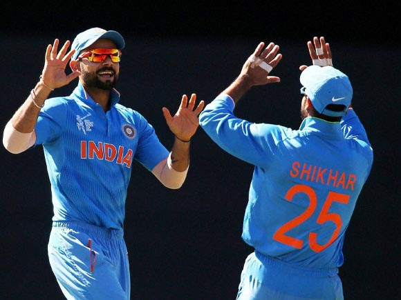 Virat Kohli, Shikhar Dhawan, World Cup, India,  Australia, MS Dhoni,  Mohammed Shami, Team India, SCG, Cricket fan