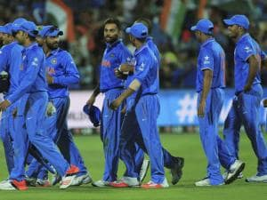File Photos world cup 2015 india vs pakistan  match