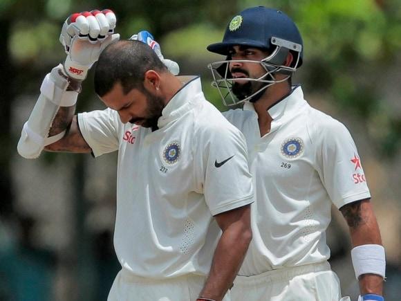 India, Sri Lanka, Virat Kohli, Shikhar Dhawan, India, Sri Lanka, Test, Galle International Stadium