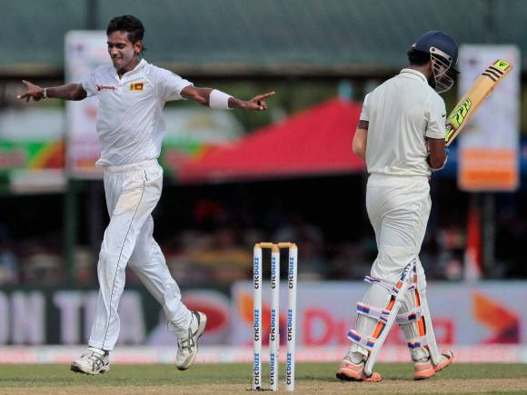 Dushmantha Chameera, India, Sri Lanka, Colombo, 2nd Test