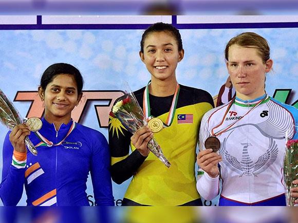 Track Asia Cup 2016, A Raji, Silver medallist