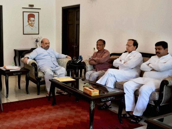 Amit Shah, BJP, Bharatiya Janata Party, Congress leader, Giridhar Gamang, New Delhi