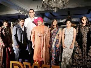 Wrestler Babita Phogat, Yogeshwar Dutt, WWE Champion Great Khali, Geeta Phogat, Sakshi Malik