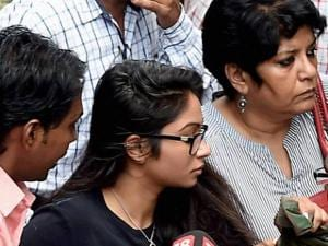 Indrani Mukerjea's daughter Vidhi arrives at Bandra Metropolitan Magistrate's court
