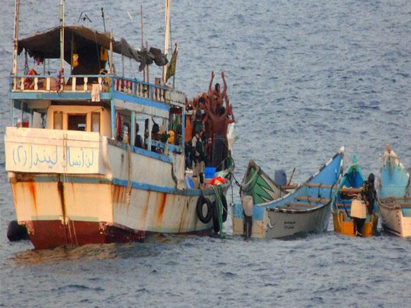 Pirate Attack, INS Sharda, Gulf of Aden, Lord Mountbatten, anti-piracy operations