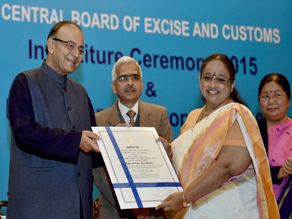 Investiture Ceremony 2015, International Customs Day 2015, Arun Jaitley,Union Minister for Finance in india,