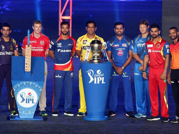 IPL, IPL 2015, MS Dhoni, Chennai Super Kings , Shikhar Dhawan, Sunrisers Hyderabad, George Bailey, Kings X1 Punjab, Gautam Gambhir, Kolkata Knight Riders, Rohit Sharma, Mumbai Indians, Jean-Paul Duminy, Delhi Daredevils, Virat Kohli, Royal Challengers Bangalore, Shane Watson, Rajatshan Royals, BCCI